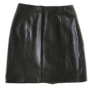 Donna Pelle | Black leather skirt 10 🔥HP!